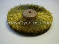 3 Row Brass Wheel brush