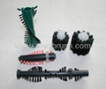 Plastic wire brush