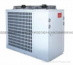 广州长顺供应冷暖热三联供热泵热水机