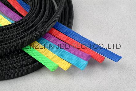 伸縮編織套管,蛇皮網,網狀套管,尼龍網管 1