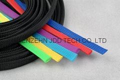 伸缩编织套管,蛇皮网,网状套管,尼龙网管