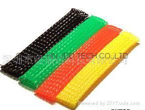 伸縮編織套管,蛇皮網,網狀套管,尼龍網管 2