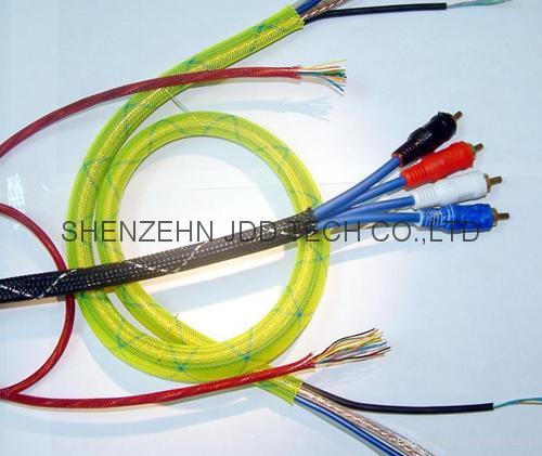 伸縮編織套管,蛇皮網,網狀套管,尼龍網管 4