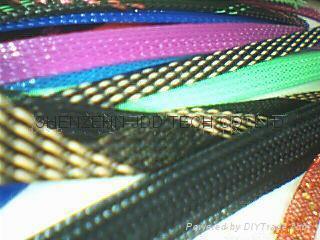 伸縮編織套管,蛇皮網,網狀套管,尼龍網管 5