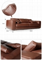 HERBERT LEATHER SOFA