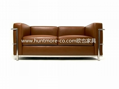 MAURICE LEATHER SOFA