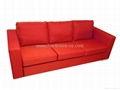 Three people sofa