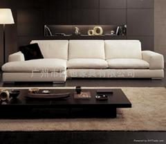 索爾時尚布藝沙發