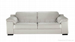HAN LEATHER SOFA