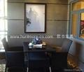 戶外沙發系列1(藤椅4個+藤桌