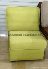 單人沙發無扶手2