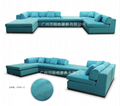S15001时尚布艺沙发 15