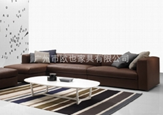 S15004時尚真皮沙發