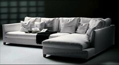 S8696L5时尚布艺沙发