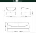OY-S15003 FABRIC SOFA