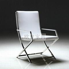OY-1003时尚不锈钢单椅