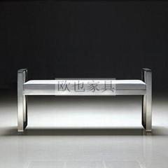OY-1002時尚不鏽鋼單椅