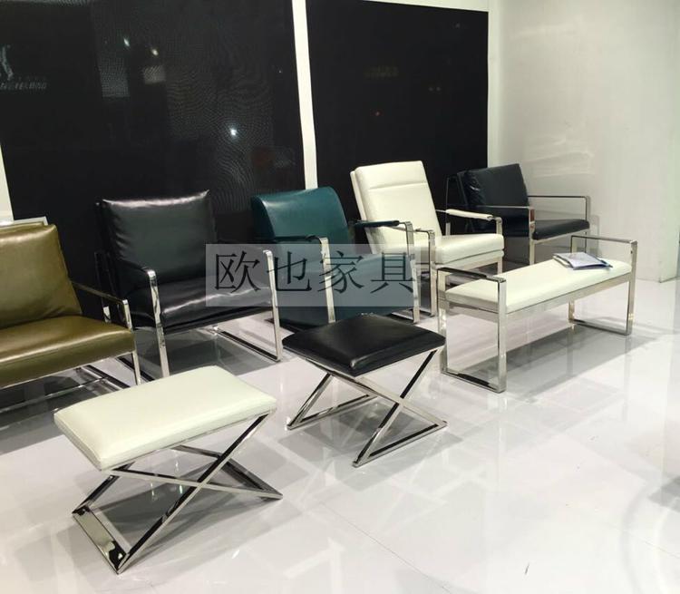 OY-1009時尚不鏽鋼單椅 6