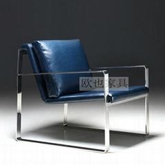OY-1009时尚不锈钢单椅