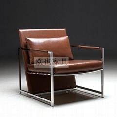 OY-1011时尚不锈钢单椅