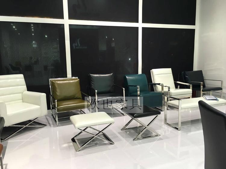 OY-1011时尚不锈钢单椅 7