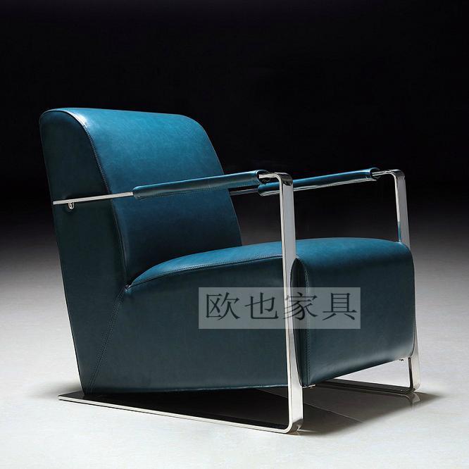 OY-1012时尚不锈钢单椅 1