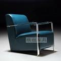 OY-1012时尚不锈钢单椅