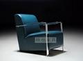 OY-1012时尚不锈钢单椅 3