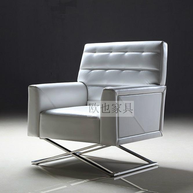 OY-1015時尚不鏽鋼單椅 1