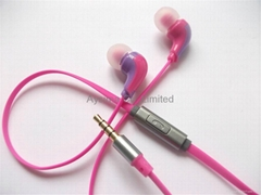 Hands free stereo mobile Headphones with online microphone