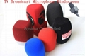 Microphone foam windscreen sponge windshields mic flags 2