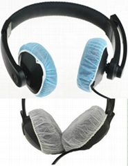 Nonwoven Disposable Sanitary Headset Cover hygienic headphone cover