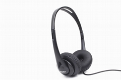 Lightweight portable Headphone  foldable conference headset