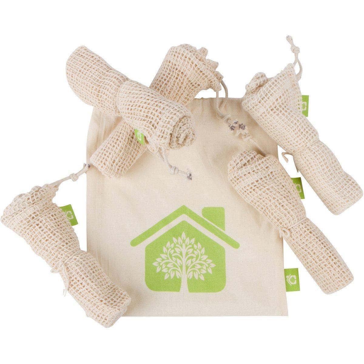 Reusable Produce Bags – Organic Cotton Mesh bags 5