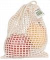 ECOBAGS Organic Net Drawstring Bag