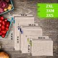 Reusable Mesh Produce Bags, Zero Waste