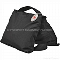 film vedio camera firm saddle sand bag 10kgs with double zipper double wings 2