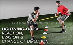足球橄欖球棒球籃球球類訓練反應帶