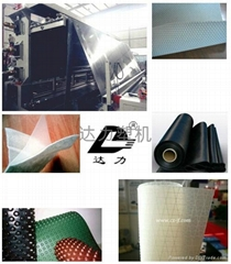 HDPE geomembrane waterproof sheet extrusion machine
