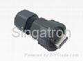 防水USB连接头 IP67 组