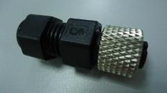 防水M12组装式母头