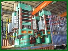 4層300噸平板硫化機