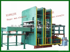 自动推拉模硫化机