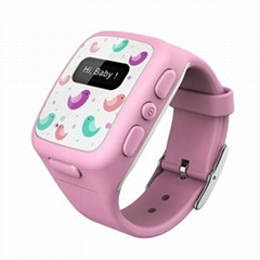 Free Shipping GPS GSM GPRS SOS Tracker Watch Double Locate Smart Child watch Rem