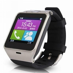 "GV19 Smart watch phone 1.55"" GSM NFC Camera wrist Watch SIM card Smartwatch"