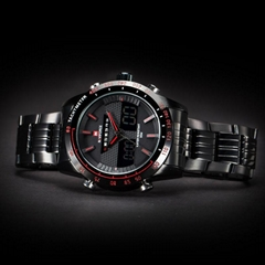 Luxury Brand Men's Quartz Hour Analog Digital LED Sports Watch