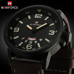 Relogio Masculino Fashion Casual Watch NAVIFORCE Quartz Watch Sport Military