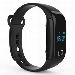 Smart Watch Heart Rate Monitor Touch Bracelet Bluetooth Fitness Wristbands
