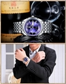 Men's Watch Auto Date Stainless Steel Relojes Back Light Hours Clock 16