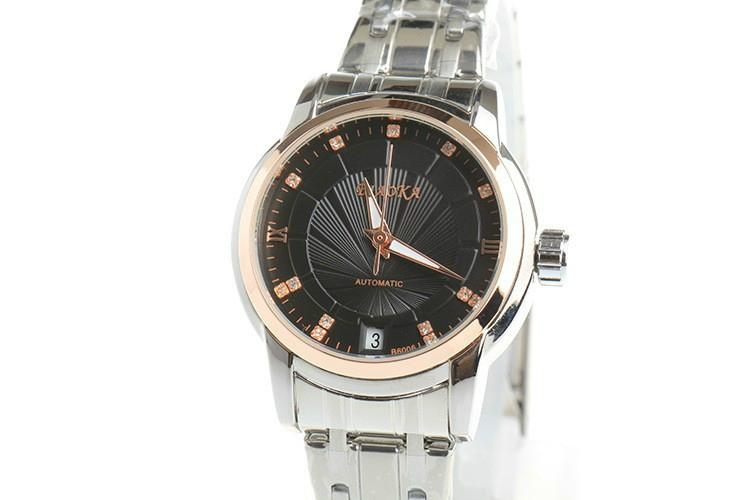 High Quality Waterproof Watches Women Full Stainless Steel Clear Mineral Glass L 13